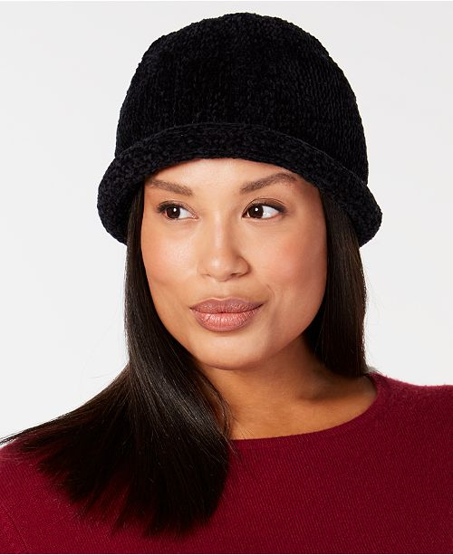 385067dc159c6 August Hats Chenille Roll-Up Hat. Macy s   Handbags   Accessories