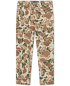 Polo Ralph Lauren Little Boys Camo Cotton Carpenter Pants