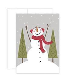 Masterpiece Studios Cozy Snowman Boxed Holiday Cards