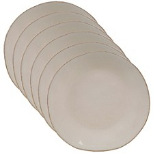 Harmony Solid Color - Cream 6-Pc. Salad Plate