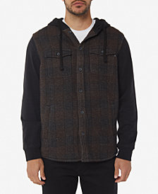O'Neill Men's Vapor Standard-Fit Stripe Hooded Shirt