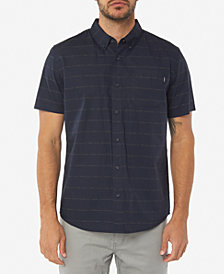 O'Neill Men's McKenna Standard-Fit Micro Printed Poplin Shirt