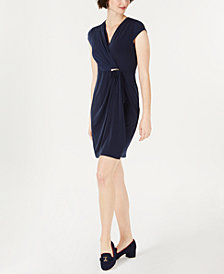 Charter Club Surplice Wrap Dress, Created for Macy's