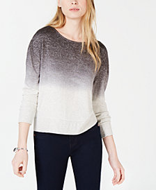 Bar III Dip-Dyed Sweater, Created for Macy's