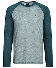 Hurley Men's Logo Graphic Raglan Shirt