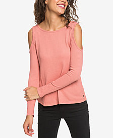 Roxy Juniors' Cold-Shoulder Top