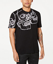 Sean John Men's 3D Skull Graphic T-Shirt
