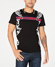 Versace Men's Paisley Logo T-Shirt