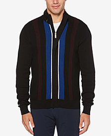 Perry Ellis Men's Vertical Stripe Sweater