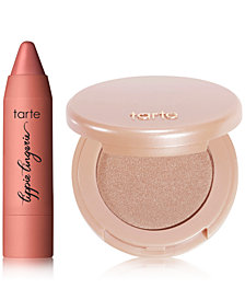 Receive a FREE Lip & Highlighter Duo with any $65 Tarte purchase