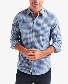 Lucky Brand Men's Plaid Ballona Shirt