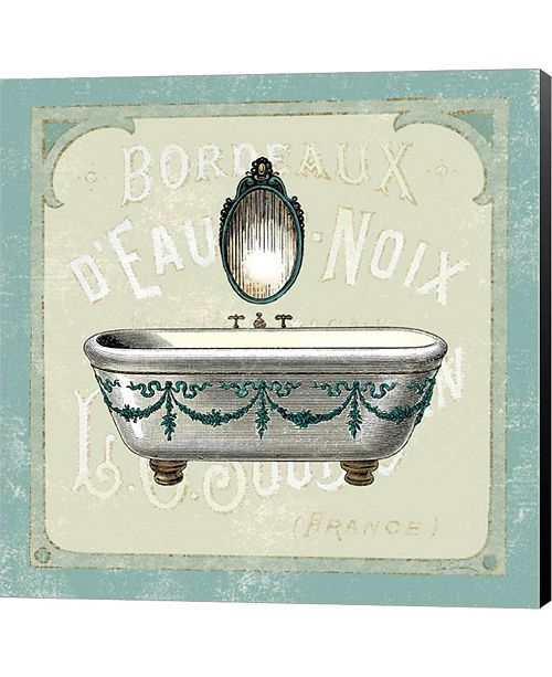 Metaverse Parisian Bath I by Sue Schlabach Canvas Art