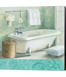 Refresh Bath Border I by Danhui Nai Canvas Art