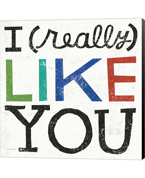 Metaverse I Really Like You by Sue Schlabach Canvas Art
