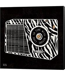 Analog Jungle Radio by Michael Mullan Canvas Art