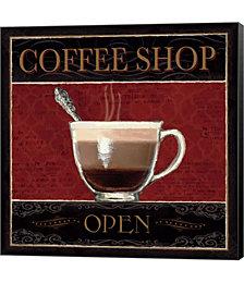 Coffee Shop I by Marco Fabiano Canvas Art