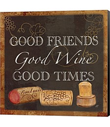 Wine Cork Sentiment III by Cynthia Coulter Canvas Art