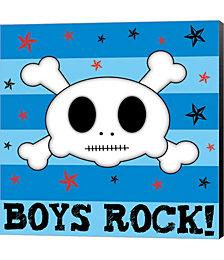 Boys Rock by Louise Carey Canvas Art