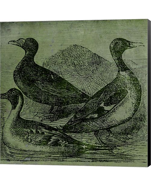 Metaverse Mallards by Color Bakery Canvas Art