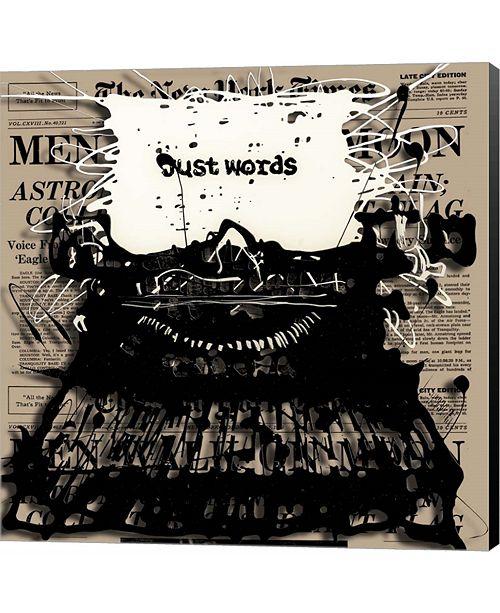 Metaverse Just Words 2 by Roderick E. Stevens Canvas Art