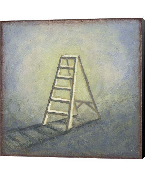 Metaverse Ladder by Rachel Paxton Canvas Art