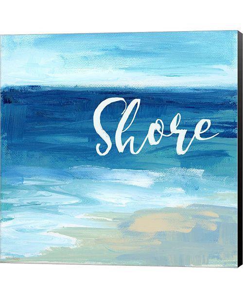 Metaverse Shore By the Sea by Pamela J. Wingard Canvas Art