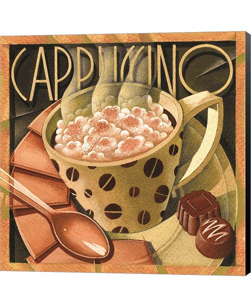 Metaverse Cappuccino & Cafe B by Sarah Elizabeth Chilton Canvas Art
