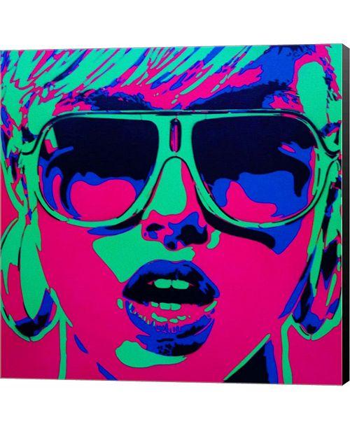 Pop Star 1 By Abstract Graffiti Canvas Art