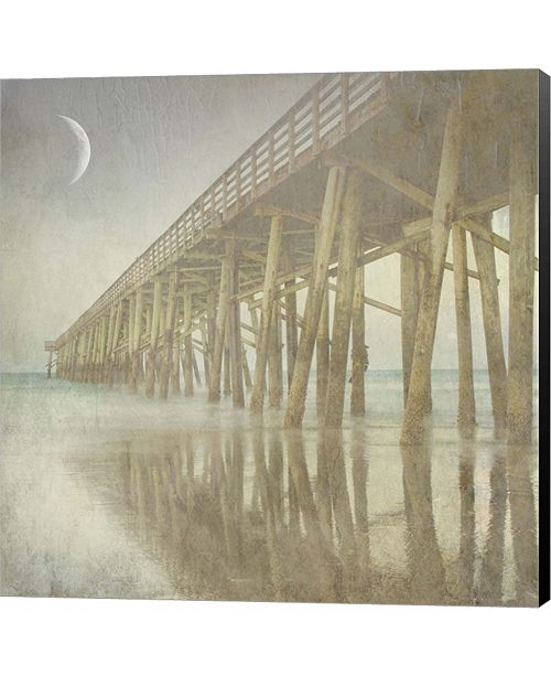 Metaverse Twilight Pier I by Marco Fabiano Canvas Art