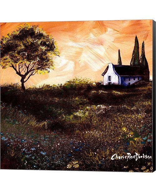 Metaverse House in The Fields 1 by Cherie Roe Dirksen Canvas Art