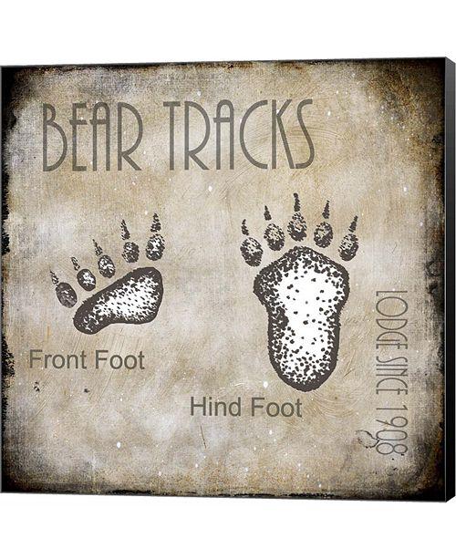 Metaverse Moose Lodge 2 - Bear Tracks 2 by LightBoxJournal Canvas Art