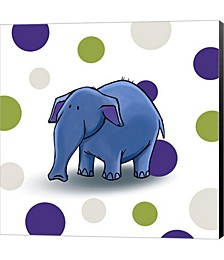 Elephant Dots by GraphINC Canvas Art