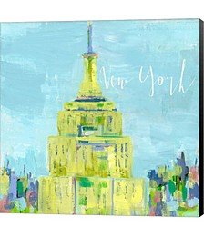 New York City by Pamela J. Wingard Canvas Art