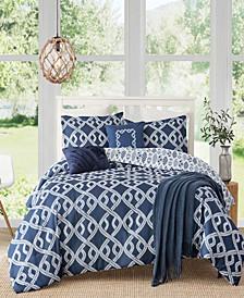 Caribbean Joe Aruba 4-Piece Comforter Sets