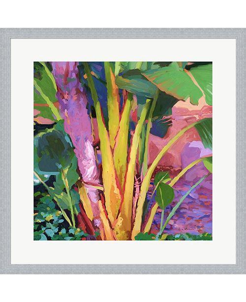 Metaverse Palm Impressions 3 by Rick Novak Framed Art