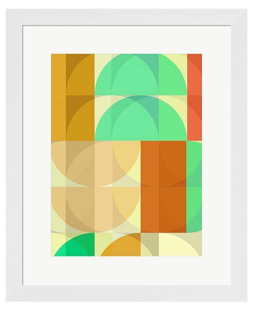 Metaverse Caring Cup B by Delores Naskrent Framed Art