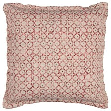 """Rizzy Home 22"""" x 22"""" Ditsy Pillow Poly Filled"""