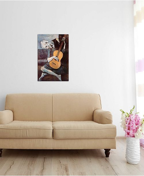 "iCanvas ""The Old Guitarist"" by Pablo Picasso Gallery-Wrapped Canvas Print"