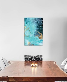 """iCanvas """"Gold Under The Sea II"""" by Eva Watts Gallery-Wrapped Canvas Print"""