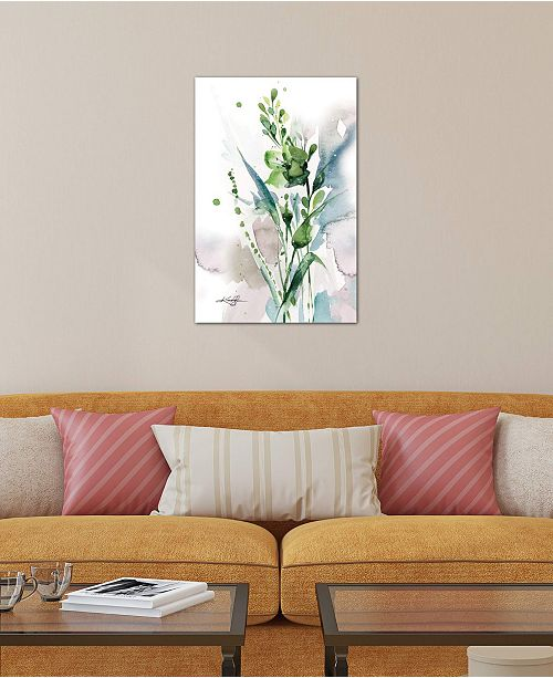 "iCanvas ""Green Bliss I"" by Kathy Morton Stanion Gallery-Wrapped Canvas Print"