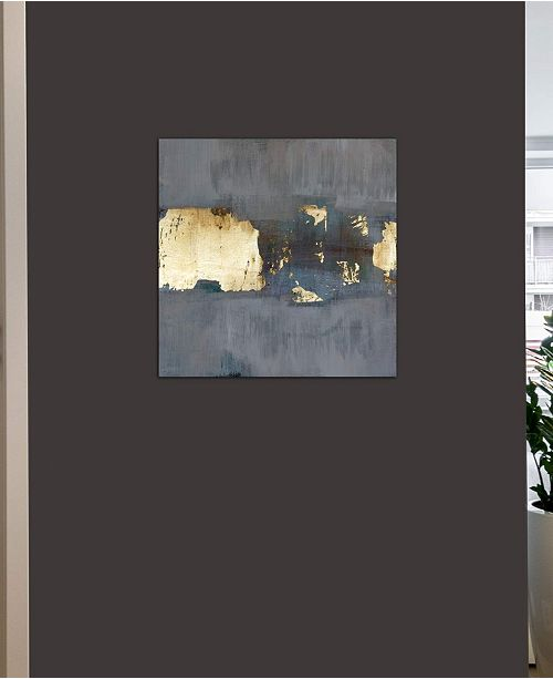 """iCanvas Glimmer Ii by Pamela Harmon Gallery-Wrapped Canvas Print - 26"""" x 26"""" x 0.75"""""""