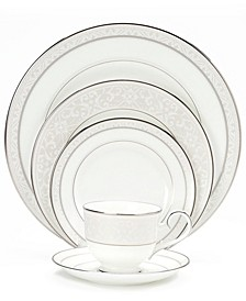 """Montvale Platinum"" Dinnerware Collection"