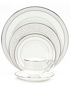 "Noritake ""Montvale Platinum"" Dinnerware Collection"