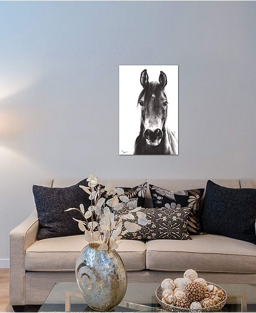 "iCanvas ""Horse Portrait"" by Eric Sweet Gallery-Wrapped Canvas Print (26 x 18 x 0.75)"