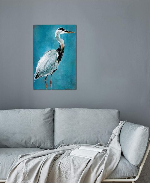"iCanvas ""Great Blue Heron I"" by Carol Robinson Gallery-Wrapped Canvas Print (26 x 18 x 0.75)"