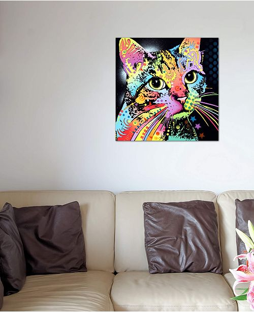 """iCanvas """"Catillac New"""" by Dean Russo Gallery-Wrapped Canvas Print (26 x 26 x 0.75)"""