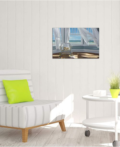 """iCanvas """"Gentle Reader"""" by Karen Hollingsworth Gallery-Wrapped Canvas Print (26 x 40 x 0.75)"""