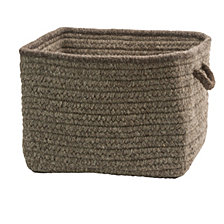 Colonial Mills Nat Style Sq Basket
