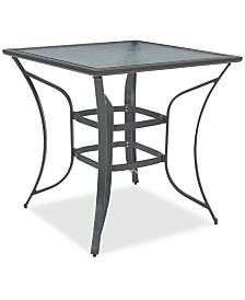 Reyna Aluminum Outdoor Bar Table, Created For Macy's