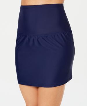 1920s Skirt History Island Escape Swim Skirt Created for Macys Womens Swimsuit $29.99 AT vintagedancer.com